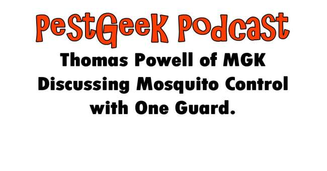 PGP-178 Thomas Powell of MGK Discussing Mosquito Control with One Guard